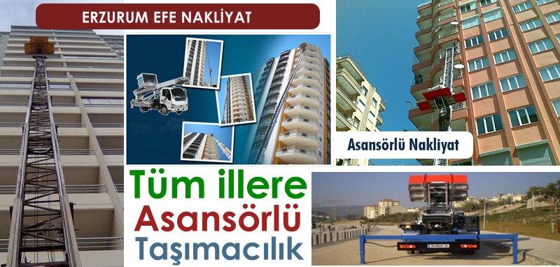 Erzurum Asansörlü Evden Eve Nakliyat